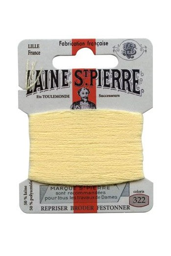 Laine Saint-Pierre 10 m card darning / embroidery 322 Barley