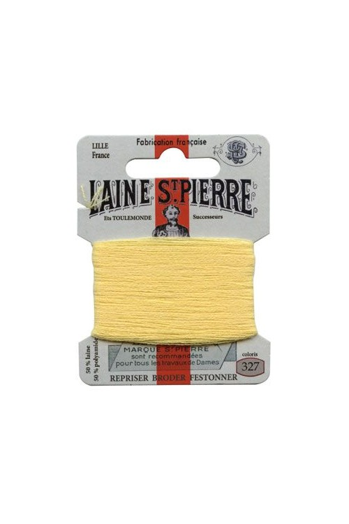 Laine Saint-Pierre 10 m card darning / embroidery 327 Canary