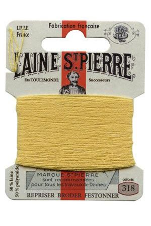 Laine Saint-Pierre 10 m card darning / embroidery 318 Straw