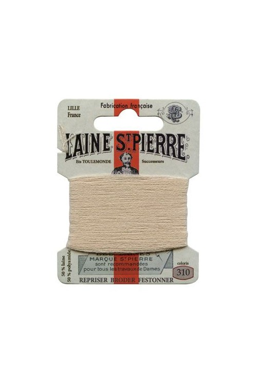 Laine Saint-Pierre 10 m card darning / embroidery 310 Seal