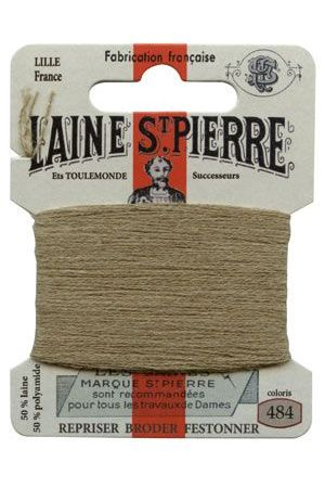 Laine Saint-Pierre 10 m card darning / embroidery 484 Reseda