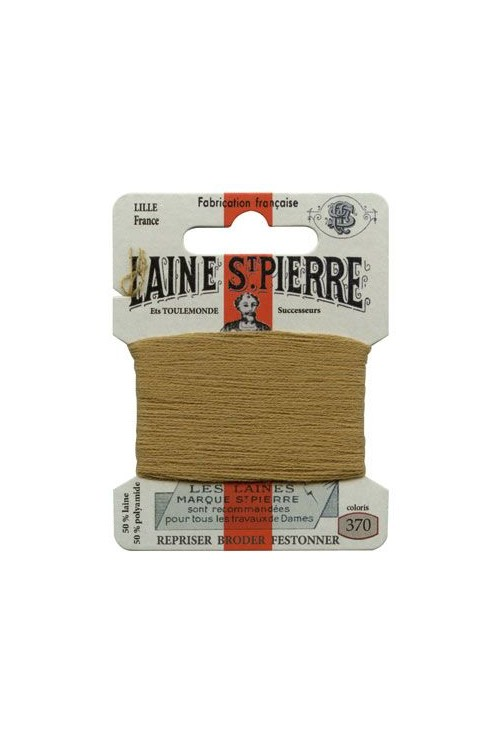 Laine Saint-Pierre 10 m card darning / embroidery 370 Camel