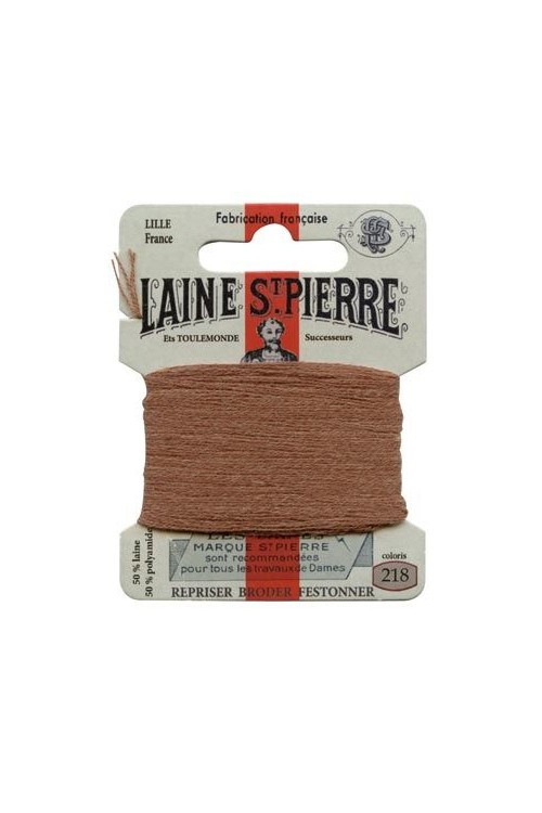 Laine Saint-Pierre 10 m card darning / embroidery 218 Buff