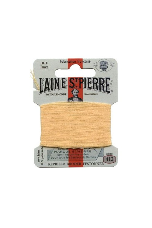 Laine Saint-Pierre 10 m card darning / embroidery 412 Banana