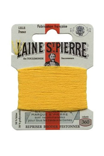 Laine Saint-Pierre 10 m card darning / embroidery 360 Gold