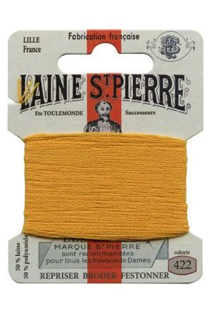 Laine Saint-Pierre 10 m card darning / embroidery 422 Mustard