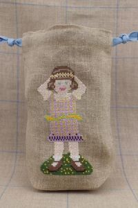 Balsamie Sajou cross stitch fancy work