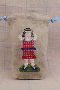 Rosalie Sajou cross stitch fancy work