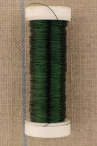 Fine metal thread 0,20mm spool 20m colour green