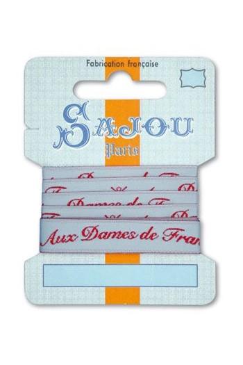 Ruban Sajou Collection Comptoir motif 8 carte un mètre