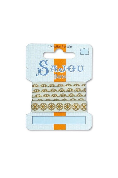 Ruban Sajou Collection Comptoir motif 13 carte un mètre