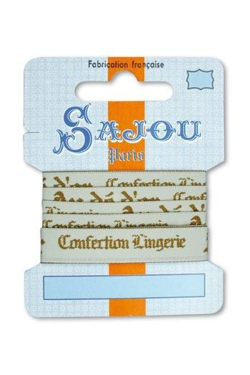 Ruban Sajou Collection Comptoir motif 16 carte un mètre