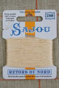 Sajou embroidery thread Retors du Nord n° 2348 Flesh