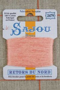 Sajou embroidery thread Retors du Nord n° 2479 Powder
