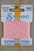 Sajou embroidery thread Retors du Nord n°2535 Blush