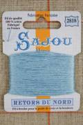 Sajou embroidery thread Retors du Nord n°2818 Gobelin blue