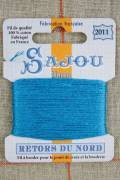 Sajou embroidery thread Retors du Nord n°2011 Turquoise