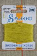 Sajou embroidery thread Retors du Nord n°2034 Moss