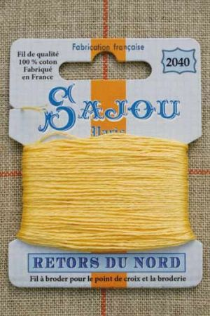 Sajou embroidery thread Retors du Nord colour 2040 Dawn