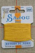 Sajou embroidery thread Retors du Nord n°2549 Automn