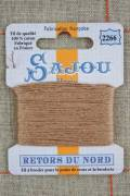 Sajou embroidery thread Retors du Nord n°2266 Deer