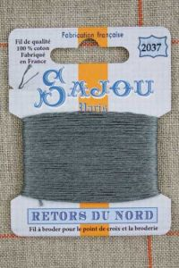 Sajou embroidery thread Retors du Nord n°2037 Ash