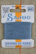 Sajou embroidery thread Retors du Nord n°2832 Slate