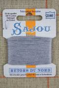 Sajou embroidery thread Retors du Nord n°2180 Metal