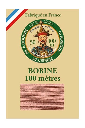 Fil Au Chinois cotton sewing thread - 100m spool 6582 - Warbler