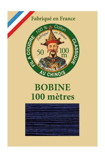Mercerisierte Baumwolle 100 Meter Spule - 6766 – Delfter Blau