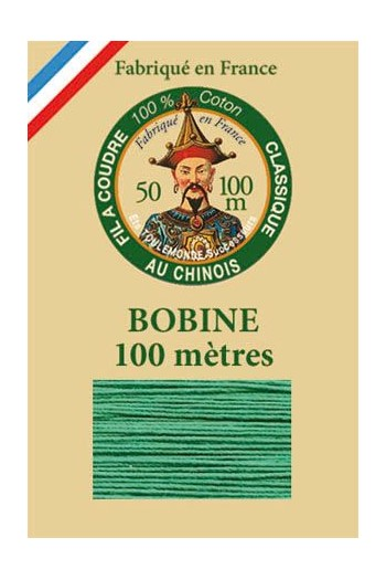 Fil Au Chinois cotton sewing thread - 100m spool 6811 - Mint