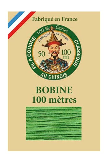 Fil Au Chinois cotton sewing thread - 100m spool 6871 - Lawn