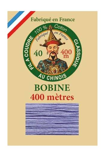 Fil Au Chinois cotton sewing thread - 400m spool 6726 - Forget me not