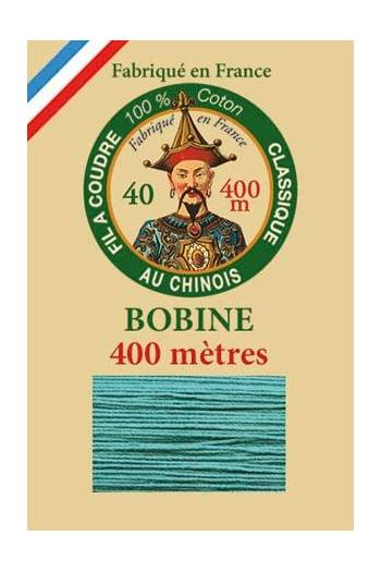 Fil Au Chinois cotton sewing thread - 400m spool 6781 - Emerald