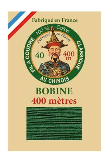 Fil Au Chinois cotton sewing thread - 400m spool 6878 - Pine