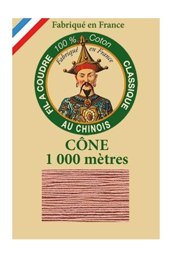 Fil Au Chinois cotton sewing thread 1000m cone 6582 - Warbler