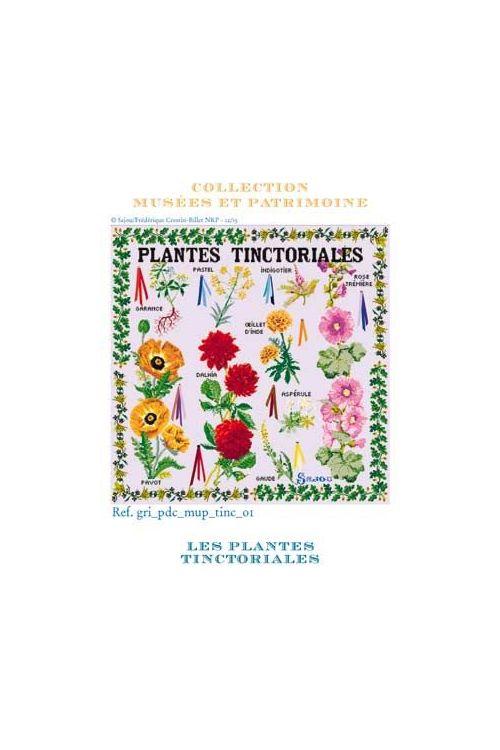 Cross stitch kit: Tinctorial Plants