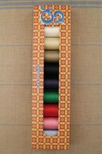 Sajou box eight spools Fil Au Chinois gloving thread
