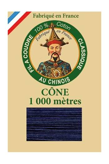 Fil Au Chinois cotton sewing thread 1000m cone 6766 - Earthenware