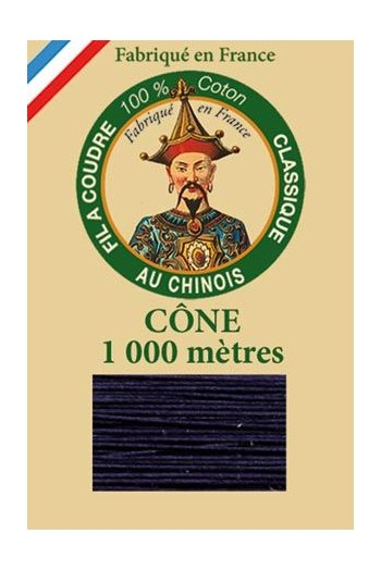 Fil Au Chinois cotton sewing thread 1000m cone 6784 - Admiral