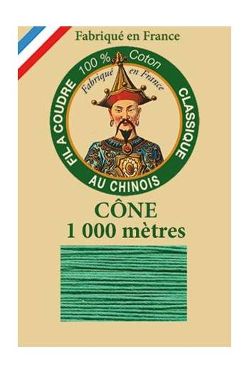 Fil Au Chinois cotton sewing thread 1000m cone 6811 - Mint