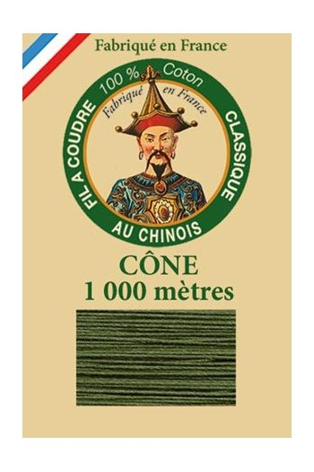 Fil Au Chinois cotton sewing thread 1000m cone 6840 - Caucas