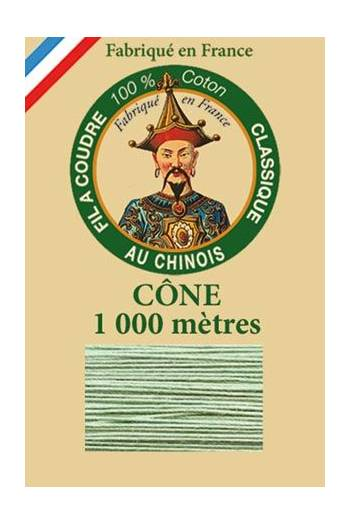 Fil Au Chinois cotton sewing thread 1000m cone 6830 - Pistachio