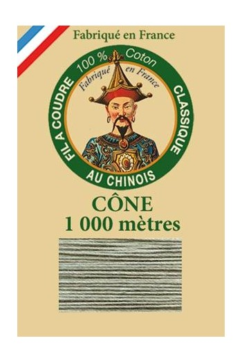 Fil Au Chinois cotton sewing thread 1000m cone 6805 - Shetland