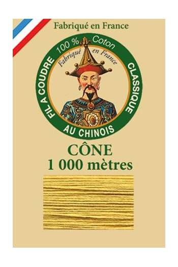 Fil Au Chinois cotton sewing thread 1000m cone 6336 - Automn