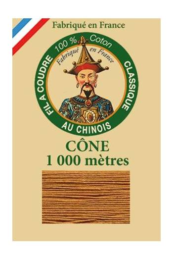 Fil Au Chinois cotton sewing thread 1000m cone 6225 - Leopard