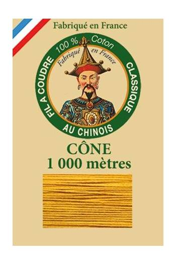 Fil Au Chinois cotton sewing thread 1000m cone 6362 - Wasp