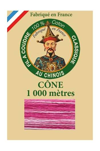 Fil Au Chinois cotton sewing thread 1000m cone 6931 - Bonbon