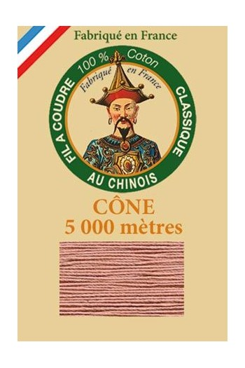 Fil Au Chinois cotton sewing thread 5 000m cone 6582 Warbler