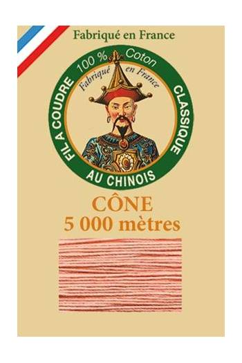 Fil Au Chinois cotton sewing thread 5 000m cone 6593 Pink